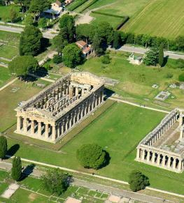 GREEK TEMPLES OF PAESTUM AND TASTING OF THE FAMOUS MOZZARELLA DI BUFALA